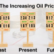 Increasing Oil Price — Stock Photo #7355675