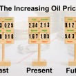 Increasing Oil Price — Stock Photo