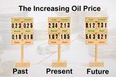 油价上涨 — 图库照片