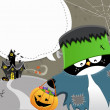Royalty-Free Stock : Halloween Frankenstein