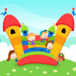 Jumping Castle — Stock Vector #7471422