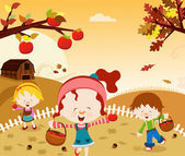 Happy Harvest — Vector de stock