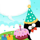 Birthday Message — Stock Vector