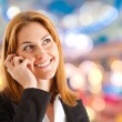 Woman phone - Stock Photo