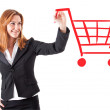 Shopping chart — Stock Photo