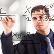 Math formula — Stock Photo