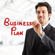Business plan — Stock Photo #6963192