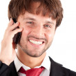 Businessman cell phone — Stock Photo #6963958