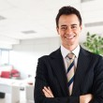 Young businessman portrait — Stock Photo #6969365