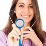 Smiling nurse — Stock Photo #6969554