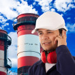 Site manager — Stock Photo