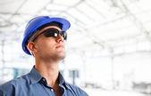 Retrato do engenheiro — Foto Stock