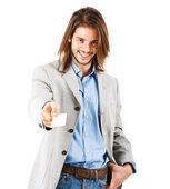 Young businessman portrait — Stock Photo