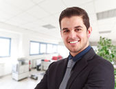 Succesful businessman portrait — Stock Photo