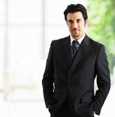 Businessman portrait — Stock Photo