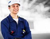 Retrato de ingeniero — Foto de Stock
