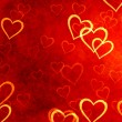Hearts background — Foto Stock
