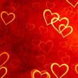 Hearts background — Foto de Stock