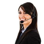 Retrato de representante de atención al cliente — Foto de Stock
