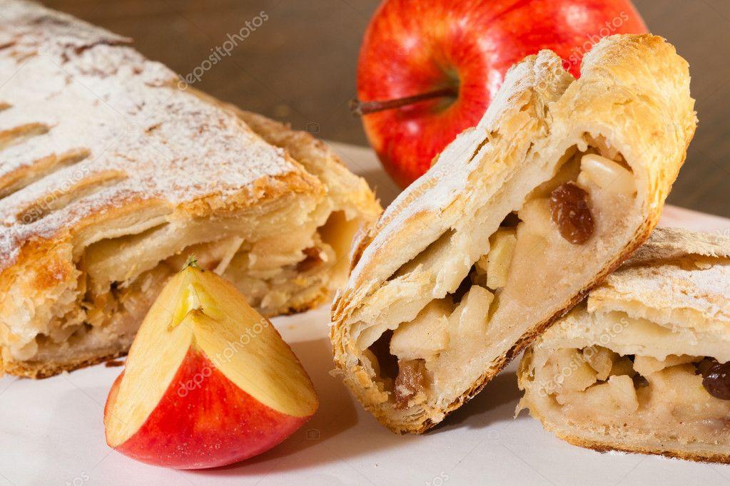Штрудель яблочный австрийский
