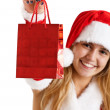 Stock Photo: christmas girl&quot