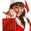 christmas girl&quot — Stock Photo #7940516