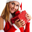 christmas girl&quot — Stock Photo #7940640