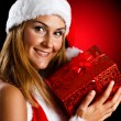 christmas girl&quot — Stock Photo #7940890