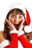 Christmas girl — Stock Photo