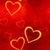 Grunge hearts — Stock Photo