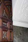 Door marble wall — Stock Photo