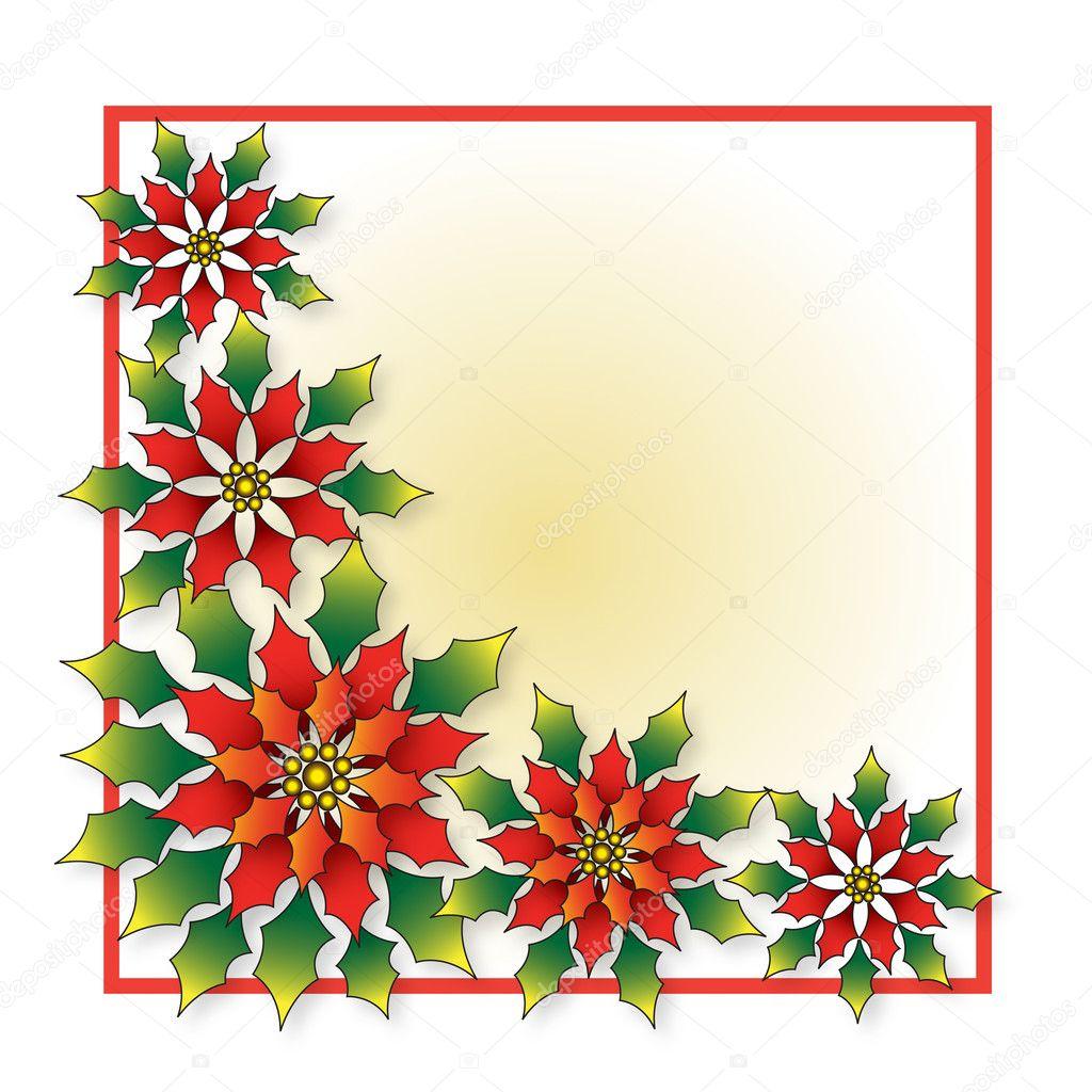 Poinsettia - Christmas Flower — Stock Photo © agcuesta1 #6906526