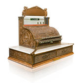 Vintage cash register — Stock Photo