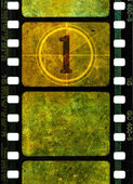 Vintage 35mm movie film reel — Stock Photo