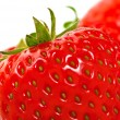 Stock Photo: Strawberries Closeup