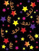 Illustrazione di coriandoli di stelle — Foto Stock