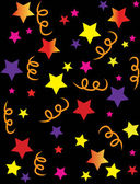 Sternen konfetti abbildung — Stockfoto