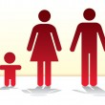 Basic family — Stock Vector