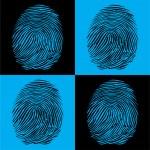 Four fingerprints — Stock Vector #6822292