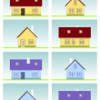 Family house — Stock Vector #6822553