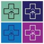 Medical symbol — Stock Vector