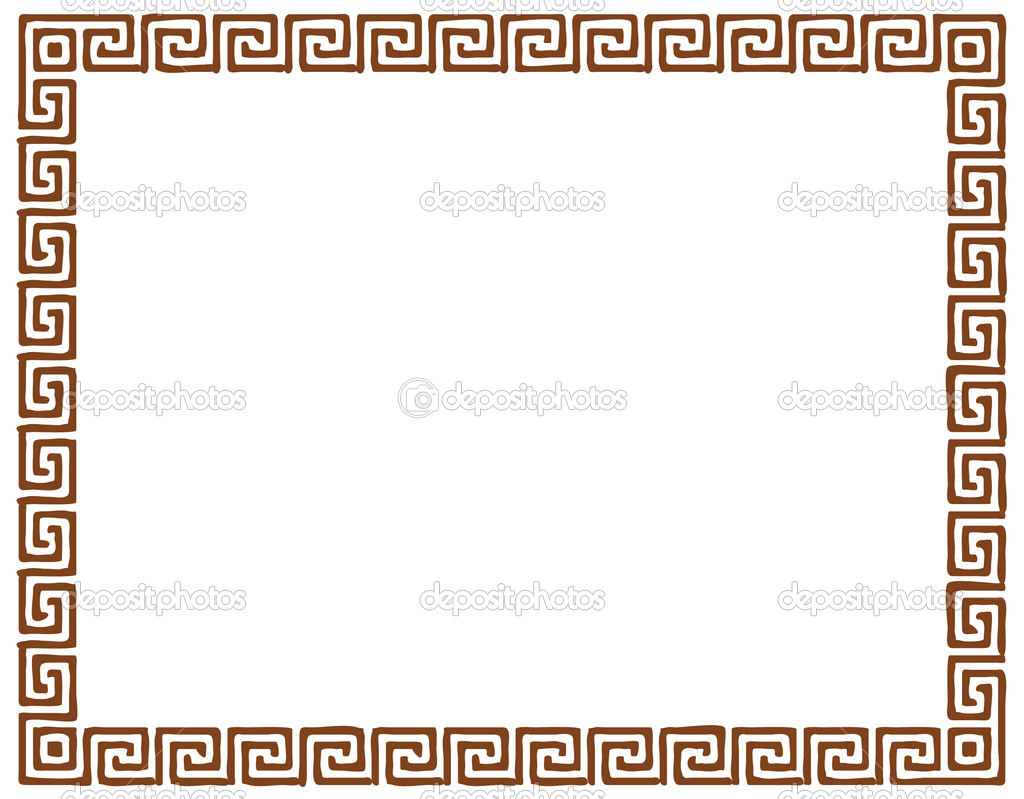 A carpet pattern - isolated illustration  Stock Vector #6821569