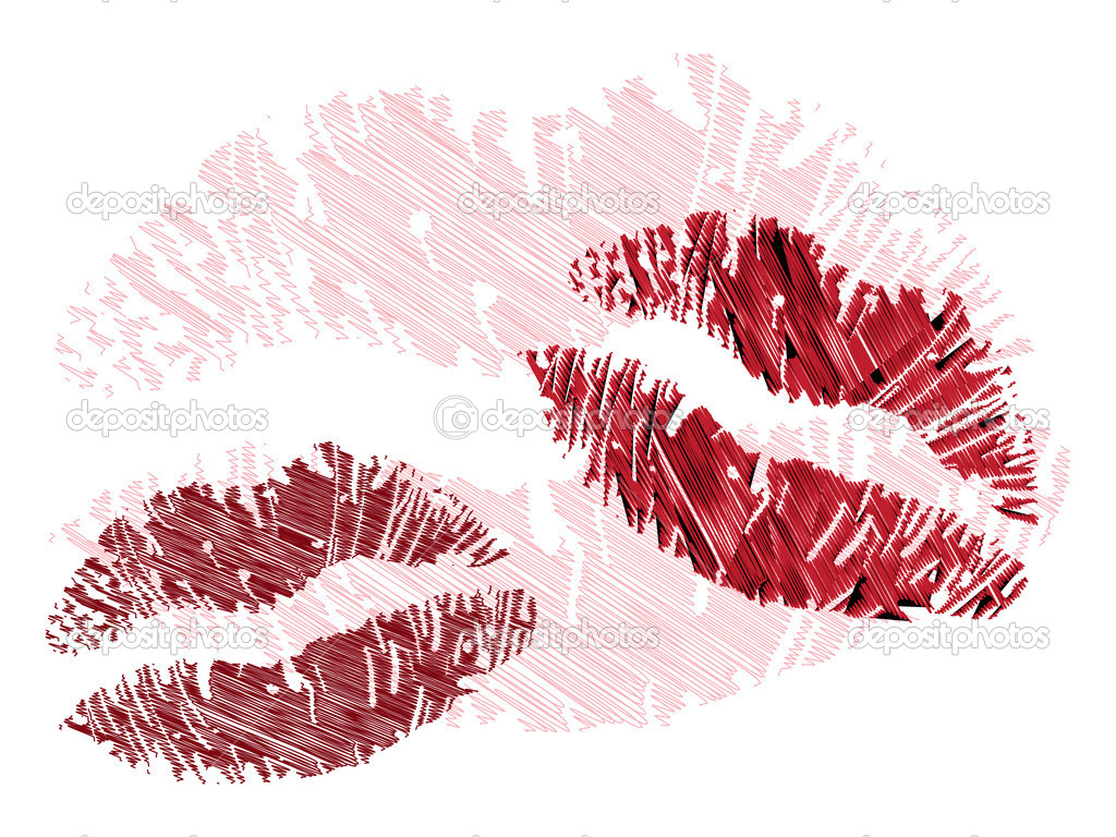 gallery for lip illustration wallpaper displaying 17 images for lip    Lip Print Wallpaper