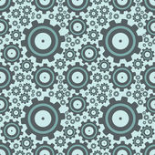 Seamless set of gears — Vector de stock