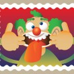 Doodle clown — Stock Vector #7025139