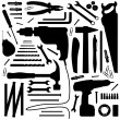 Stock Vector: Diy tool