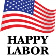 Royalty-Free Stock Vector Image: Happy labor day