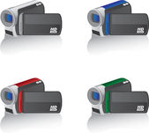 Camcorders — Vetorial Stock