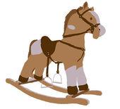 Clockhorse — Stock Vector