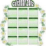 2012 calendar — Stock Vector #7611323